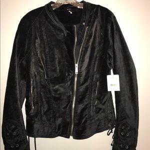 free people jacket black